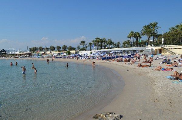 Private beaches in Cannes - Bijou beach area