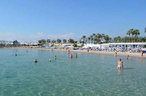 Bijou-Plage: fondale poco profondo - Cannes