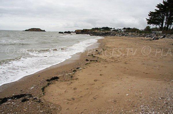 Photo de la plage de la pointe du Bile à Pénestin