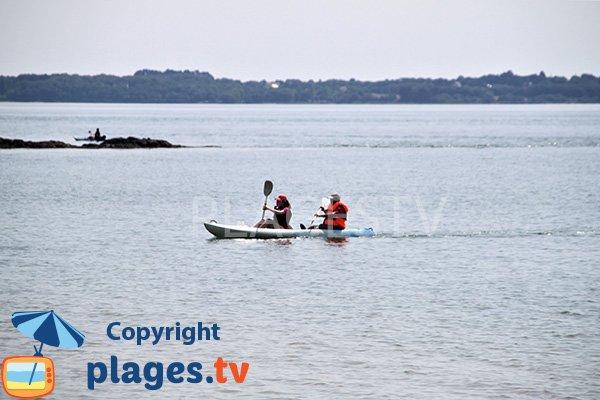 Kayak sur l'ile d'Arz - Bilhervé