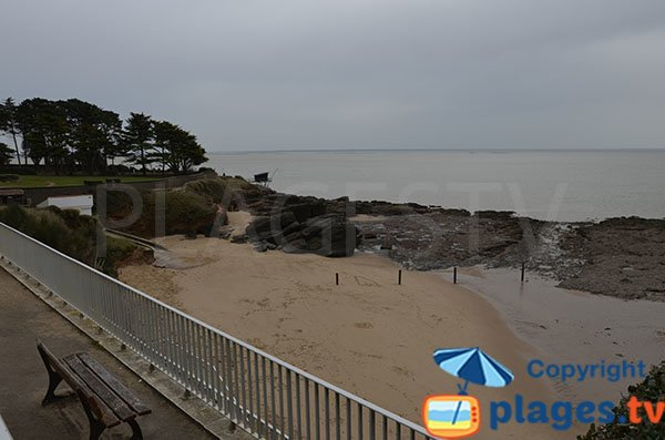 Foto della spiaggia della Birochère a Pornic - Francia