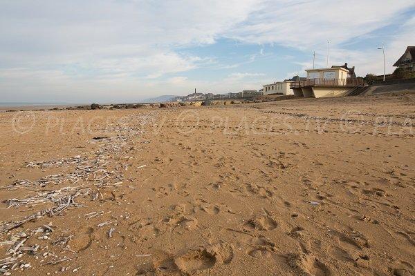 Photo de la plage de la Bizontine à Cabourg