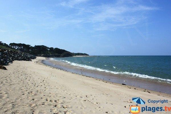 Beach near Bois de la Blanche in Noirmoutier