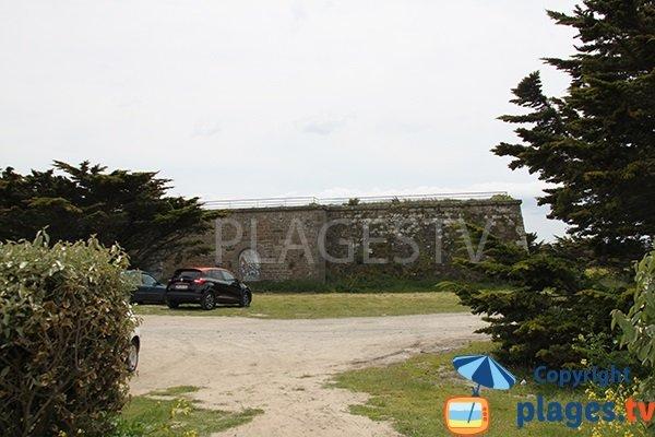 Ancien fort à côté de la plage du Conquet