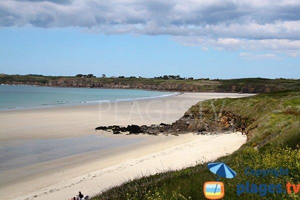 Photo de la plage des Blancs Sablons à Le Conquet
