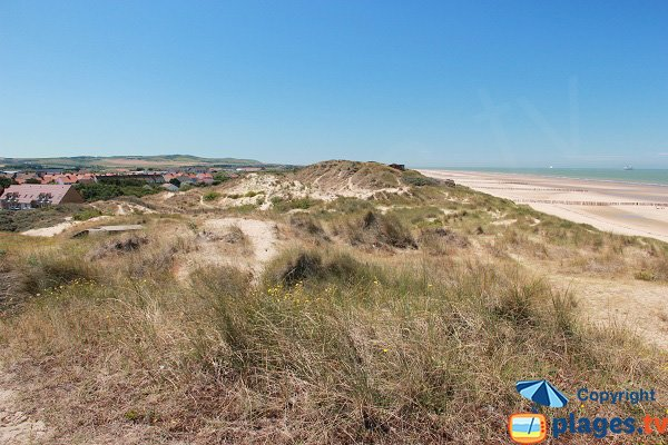 Dunes of Blériot-Plage in France