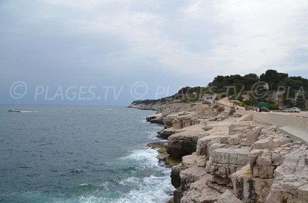 Küste der Halbinsel von Cassis