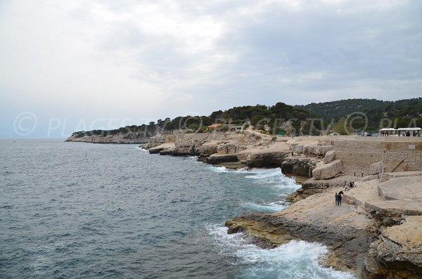 Strand Bleue von Cassis