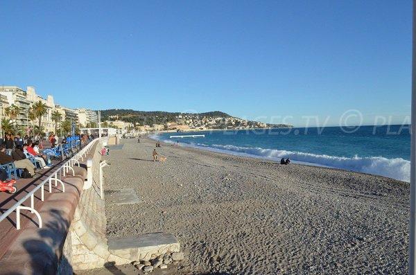 Spiaggia Blue Beach in Nizza