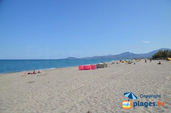 Spiaggia naturista a St Cyprien Elne - Bocal de Tech
