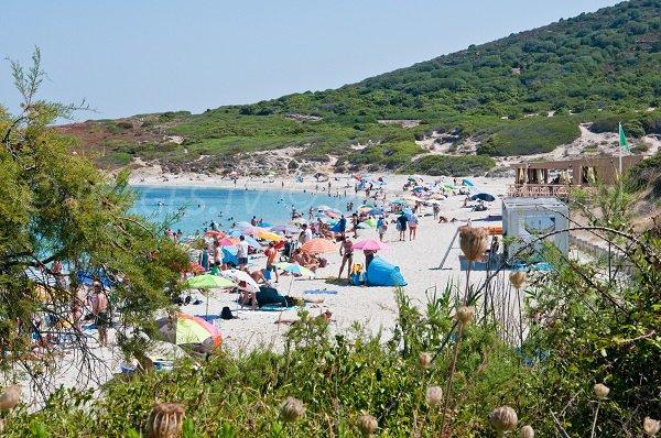 Belle plage à proximité d'Ile Rousse - Plage de Bodri