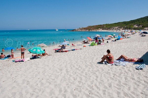 Sabbia bianca Corbara - Corsica