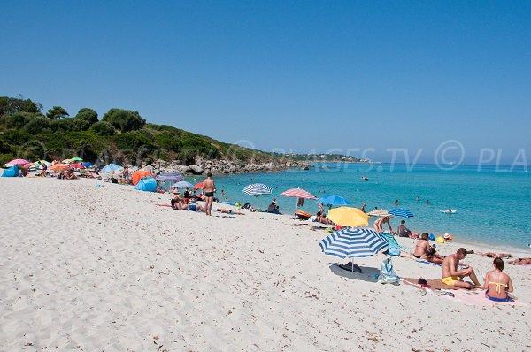 Spiaggia Corbara - Punta di U Ghjineparu - Corsica