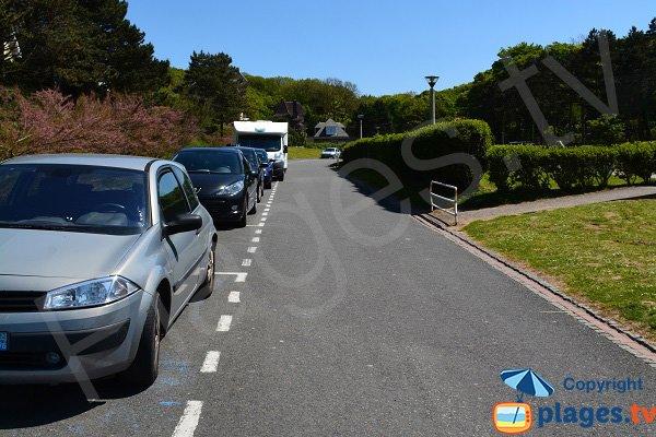 Parking de la plage du Bois de Cise - Ault