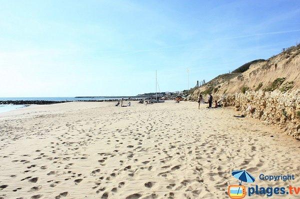 Photo de la plage de Boisvinet - Jard sur Mer