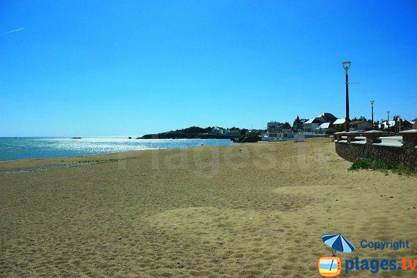Photo de la plage de Boisvinet à St Gilles Croix de Vie