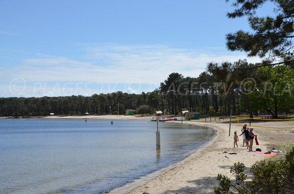 club surf carcans plage