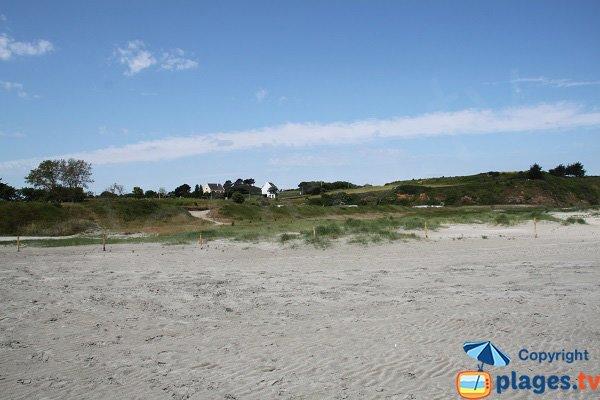 Dunes de la plage d'Hillion - Bon Abri