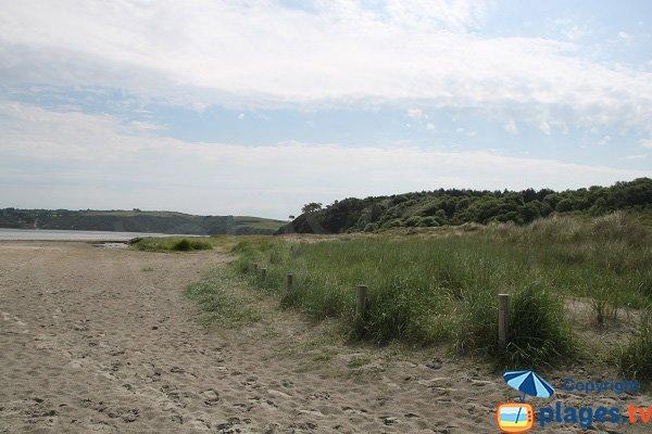 Environnement de la plage de Bon Abri - Hillion