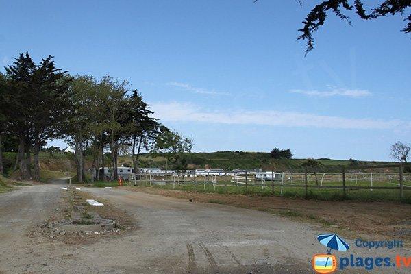 Camping à proximité de la plage de Bon Abri - Hillion