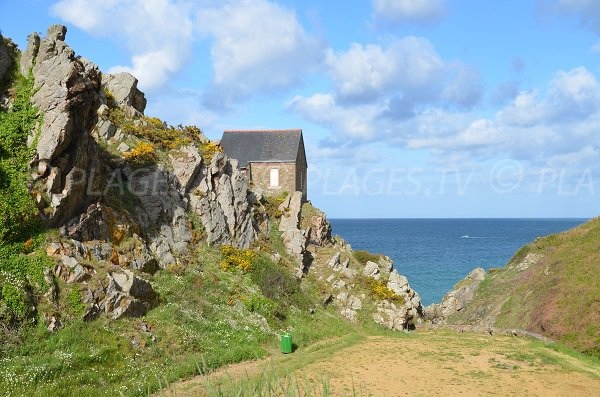House of Bonaparte beach - Brittany