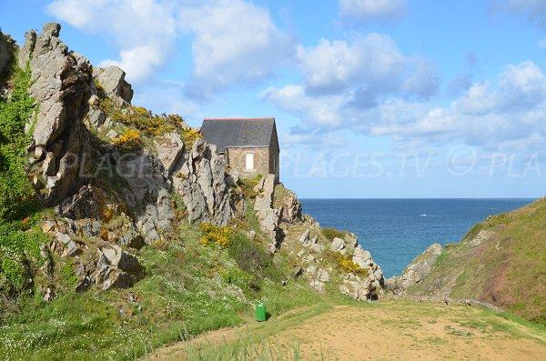 Maison à côté de la plage Bonaparte en Bretagne