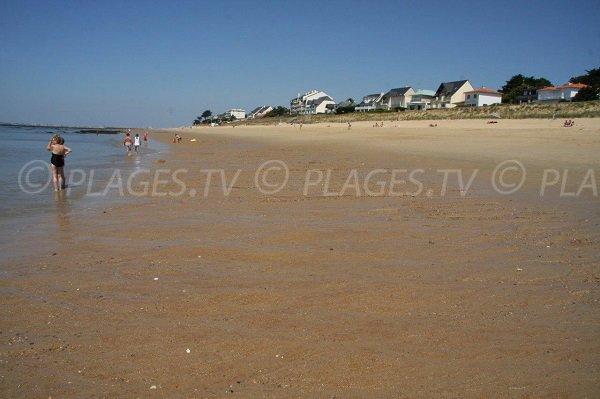 Environnement et habitations autour de la plage de la Bonne Anse à Pornichet