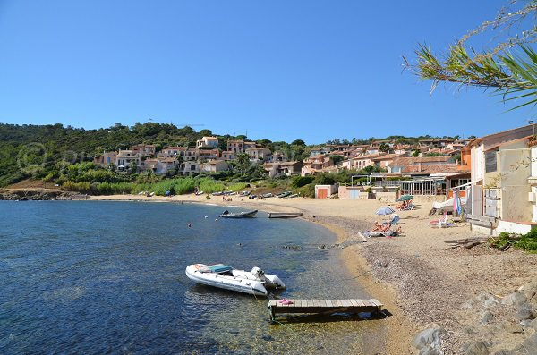 Photo of the Bonne Terrasse beach in Ramatuelle