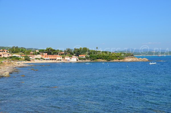 Spiaggia di Bonne Terrasse e di Pampelonne