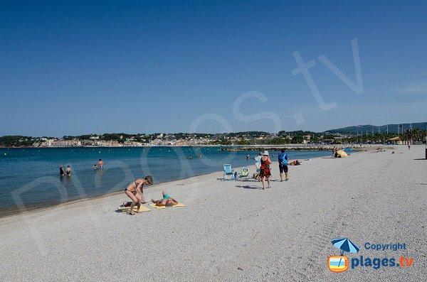 Spiaggia di Bonnegrace - Six-Fours les Plages - Francia