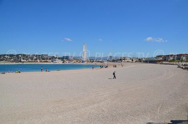 Anse de Bonneveine à Marseille