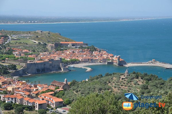 Collioure Bay and Boramar Beach