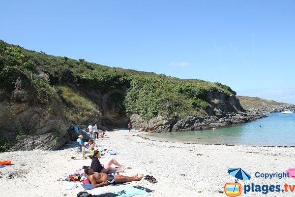 Crique de Bordery à Belle Ile en Mer