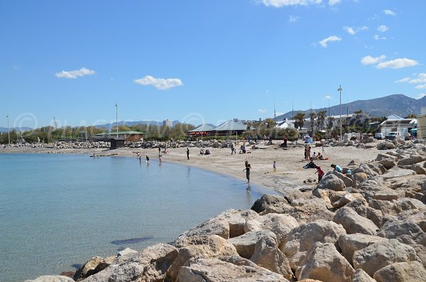 Prado beach in Marseille - Borely area