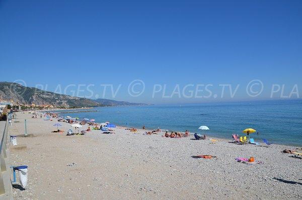 Photo of Borrigo beach in Menton