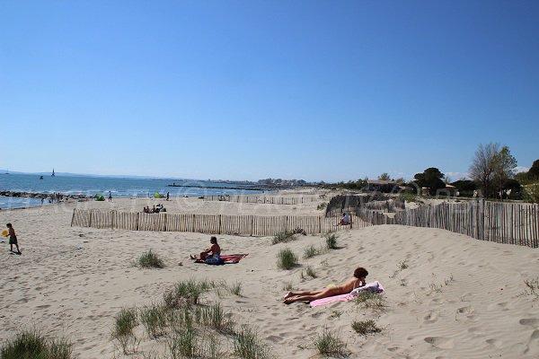 Foto spiaggia del Boucanet a Grau du roi
