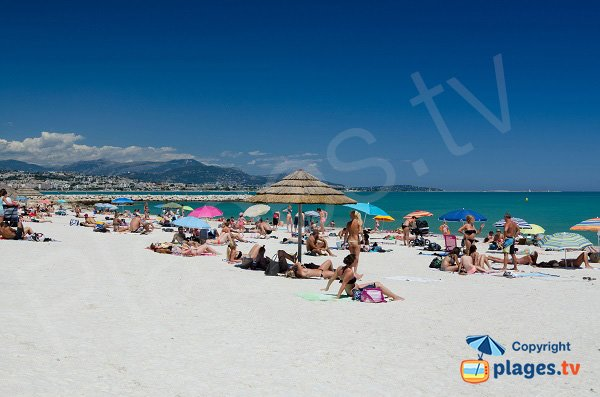 Photo of Bouches du Loup beach in Villeneuve-Loubet in France