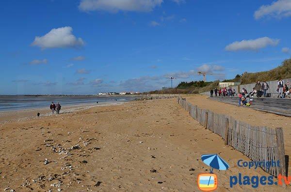 Photo de la plage des Boucheleurs à Chatelaillon