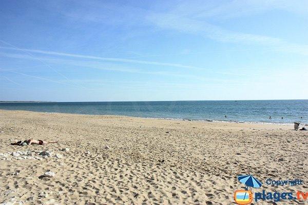 Bouil beach in Longeville - Vendée