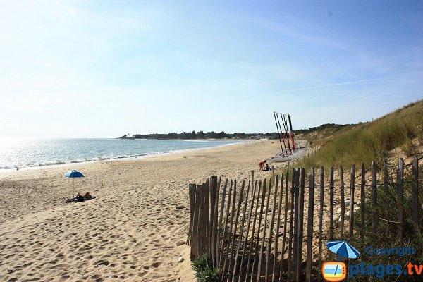Photo of Bouil beach in Longeville sur Mer - France