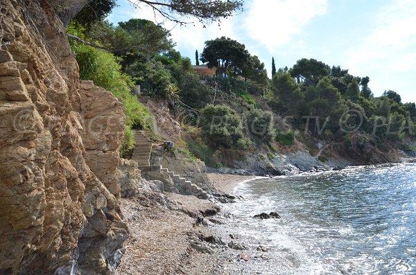 Foto della spiaggia della Bouillabaisse - La Croix Valmer