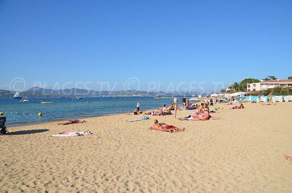 Photo de la plage de la Bouillabaisse à St Tropez
