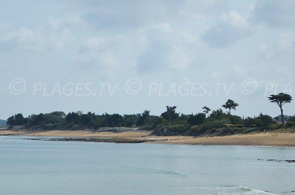 Photo de la plage de Boulassiers de La Brée les Bains