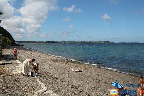 Photo de la plage de Boulgueff à Paimpol