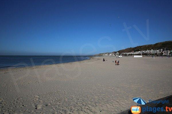 Photo de la plage de Boulogne sur Mer