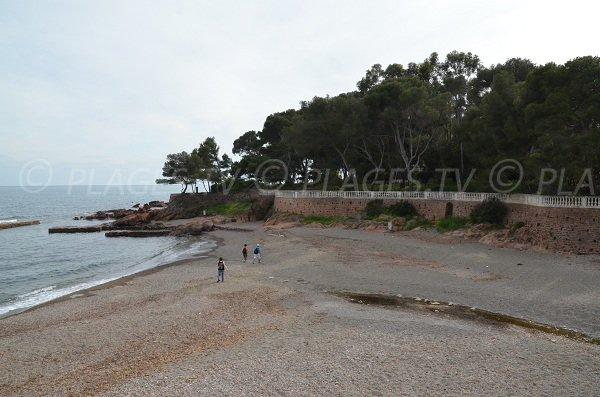 Plage de Boulouris à St Raphaël