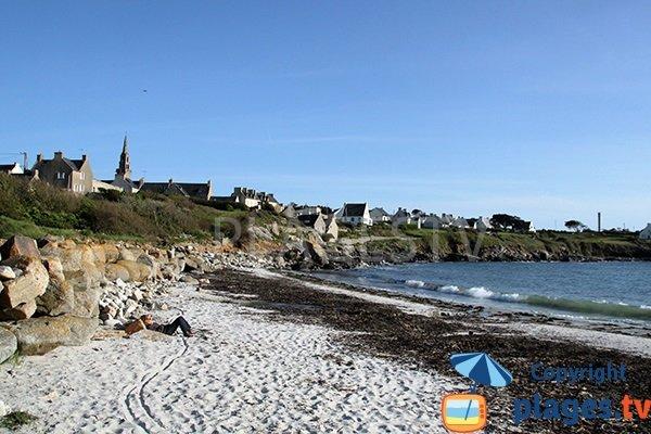 Photo de la plage du Bourg de Porspoder - Bretagne