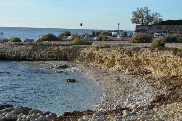 Crique sauvage à proximité de Martigues