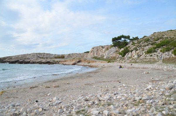 Photo de la plage de Bourmandariel à La Couronne