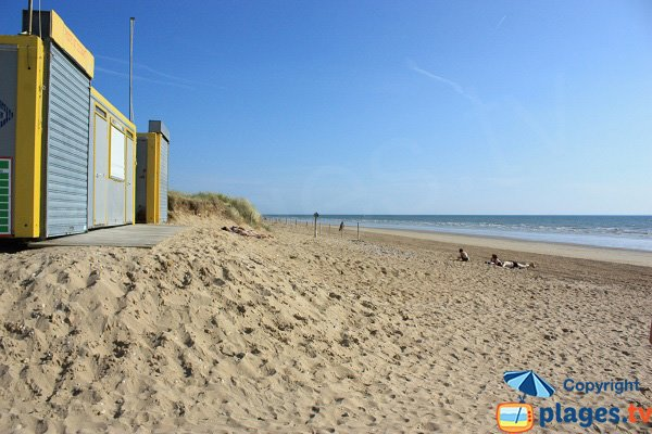 Lifeguard station of Braie beach - Notre Dame de Monts